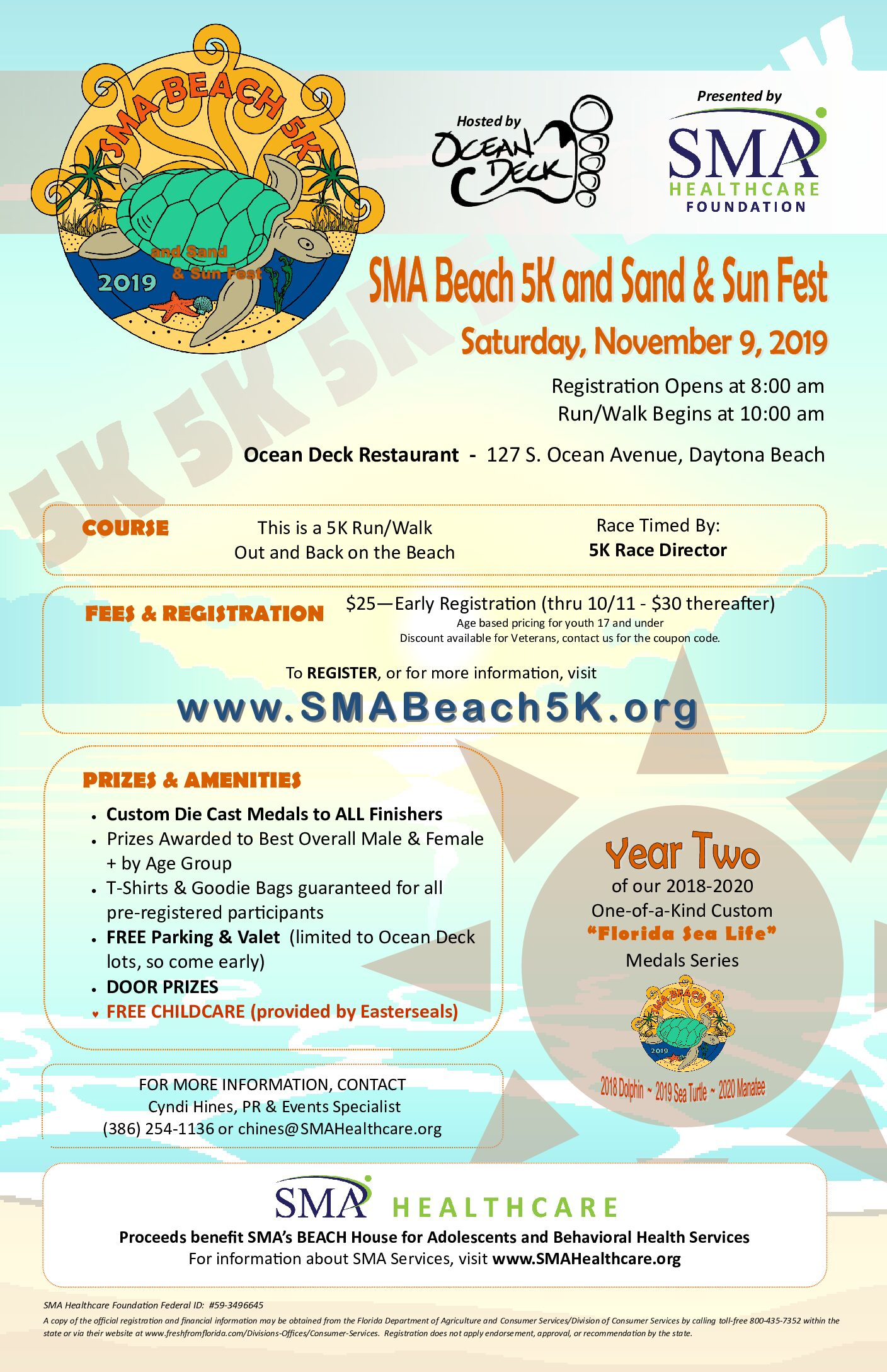 SMA Beach 5K and Sand & Sun Fest