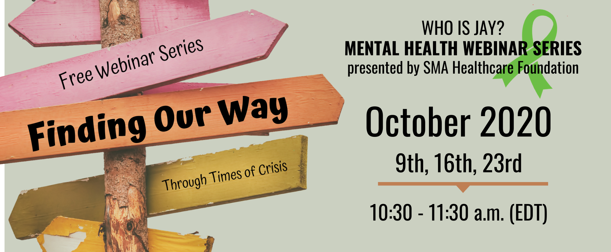 Who is Jay? Mental Health Webinar Series